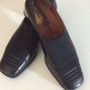 Mephisto leather loafer